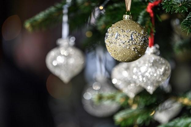 Gæsterne kunne se den smukke julepynt på klosteret. Foto: Nicolas Cho Meier Nicolas Cho Meier