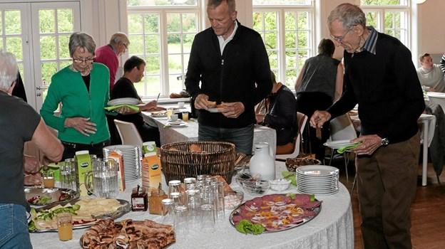 Morgenkaffe i Tolnes grønne skov. Foto: Peter Jørgensen Peter Jørgensen