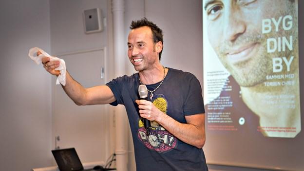 Torben Chris gæster Frederikshavn med to show 21. september. Foto: Hans Ravn