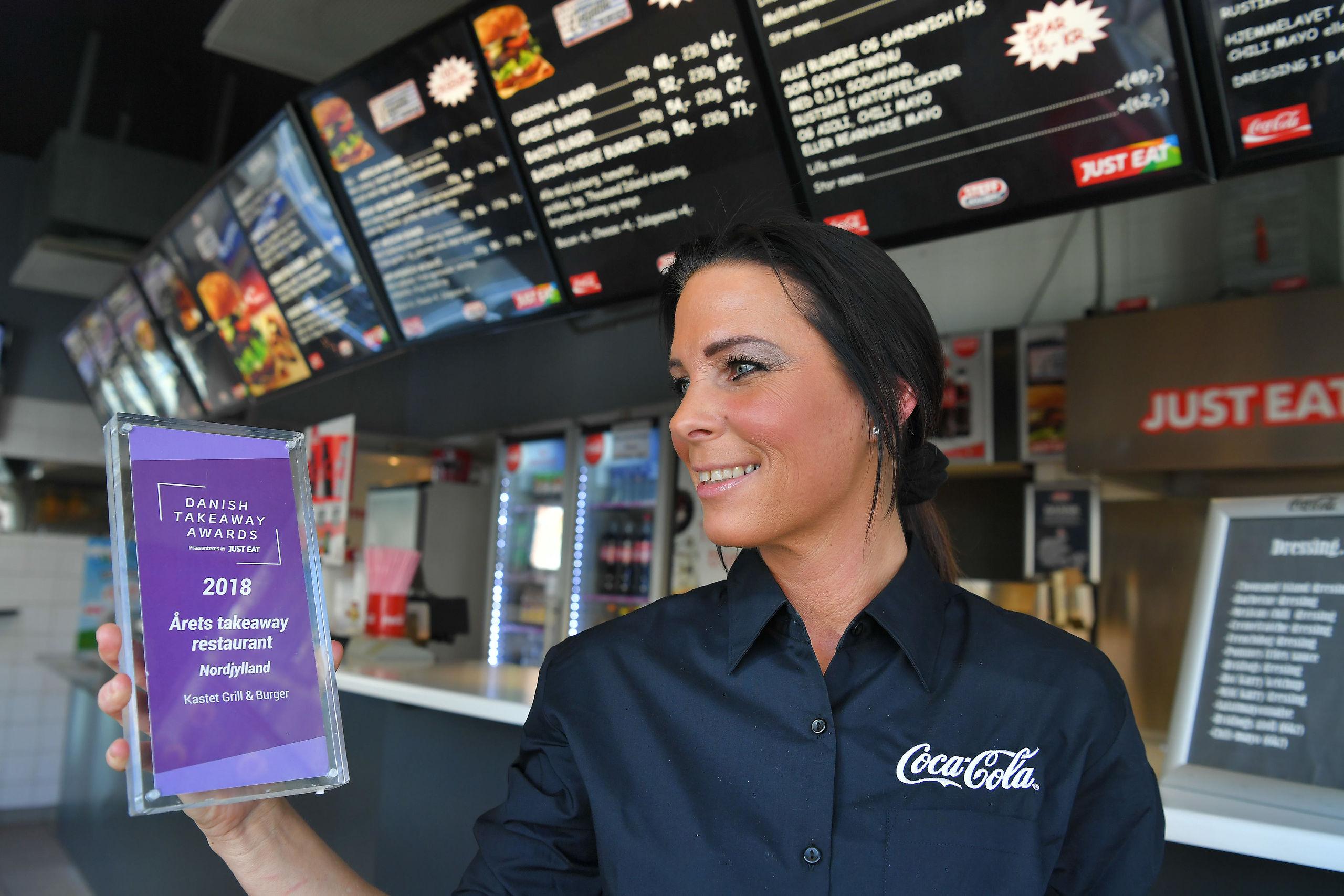 Kastet Grill & Burger blev for nylig kåret som Årets takeaway restaurant i Nordjylland af Just Eats brugere. Foto: Hans Ravn