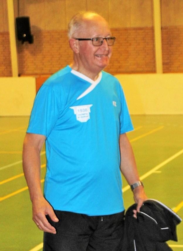 Tovholder Jens Andersen var med til at starte 60+ ?den 1. september 2004. ?Foto: Sten V. Andersen