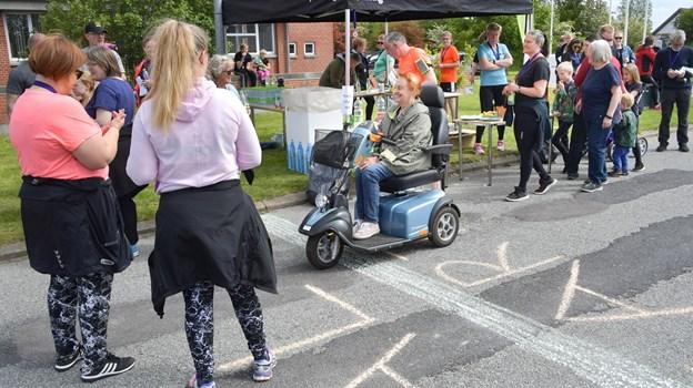 130 deltog i demensløbet.Foto: Claus Søndberg