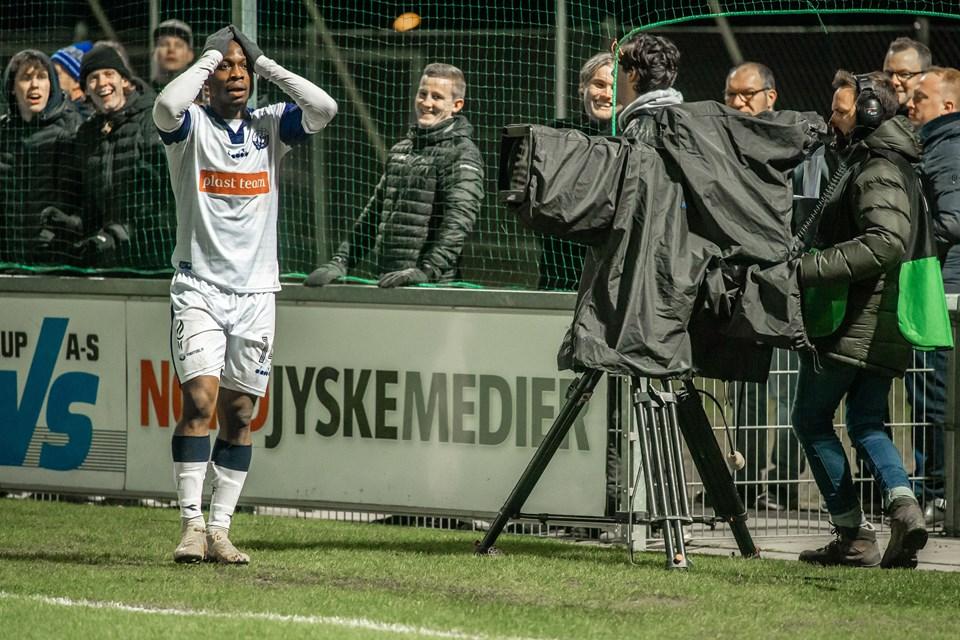 Vendsyssel FF har besøg af Brøndby i pokalkvartfinalen i fodbold.  Foto: Martin Damgård
