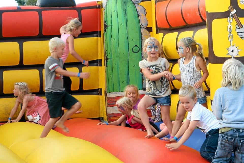 De yngste kan godt glæde sig til årets udgave af Limfjordsfest. Foto: Allan Mortensen