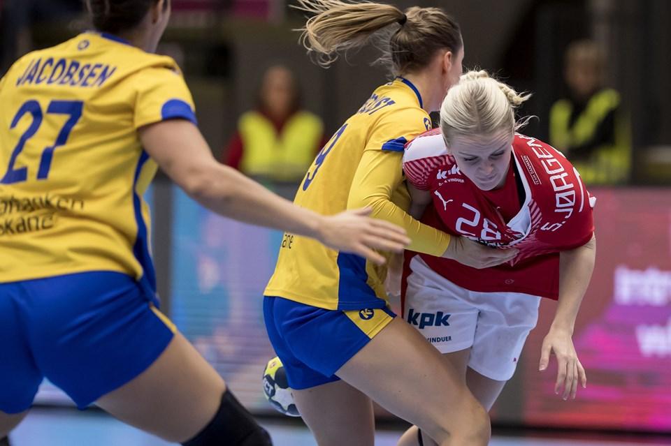 04fdf418719 Danmark får svenske klø i sidste VM-test   Nordjyske.dk
