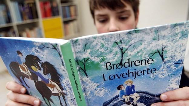 Biblioteket i Nykøbing håber på besøg af mange børn i skolernes sommerferie. Arkivfoto: Henrik Bo.