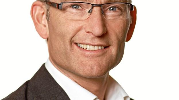 Det billede, som bliver brugt i valgkampen, af Per Larsen.