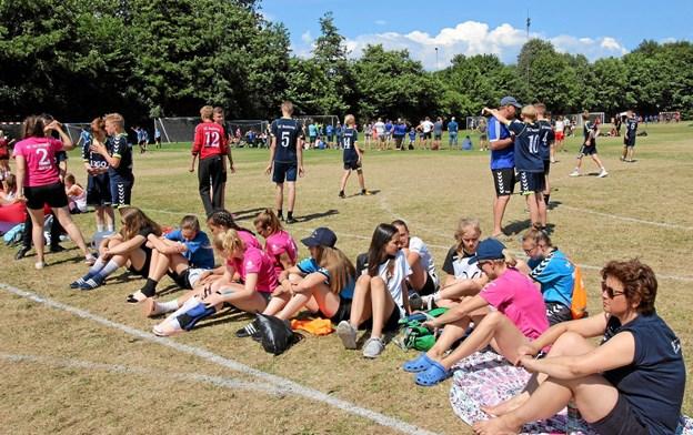Omkring 3.000 spillere møder op, når Dronninglund Cup afvikles i uge 28. Foto: Arkivfoto, Jørgen Ingvardsen