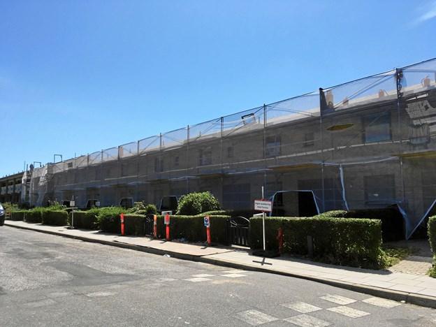 Inden 1. december er de første boliger klar efter den store renovering. Privatfoto