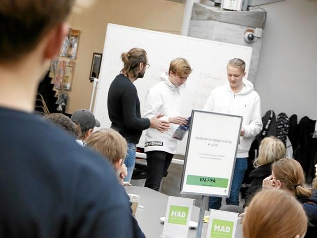 Vinderne ses her - fra Skagen Skoleafdeling. Foto: Frederikshavn Bibliotek/Sisse Sisse