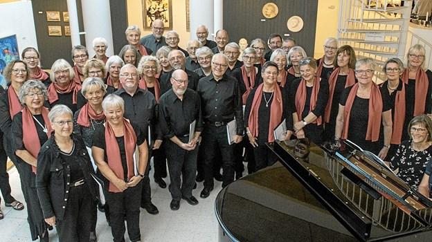Fladstrandkoret og det svenske kor Sölveborgs Körselselskab synger begge i Frederikshavn Kirke 31.maj