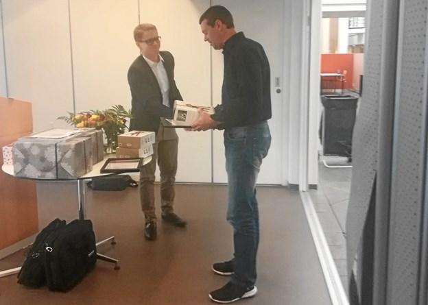 Allan Poulsen fra Frederikshavn afsluttede sin uddannelse i Energimanagement på UCN med topkarakter.Privatfoto