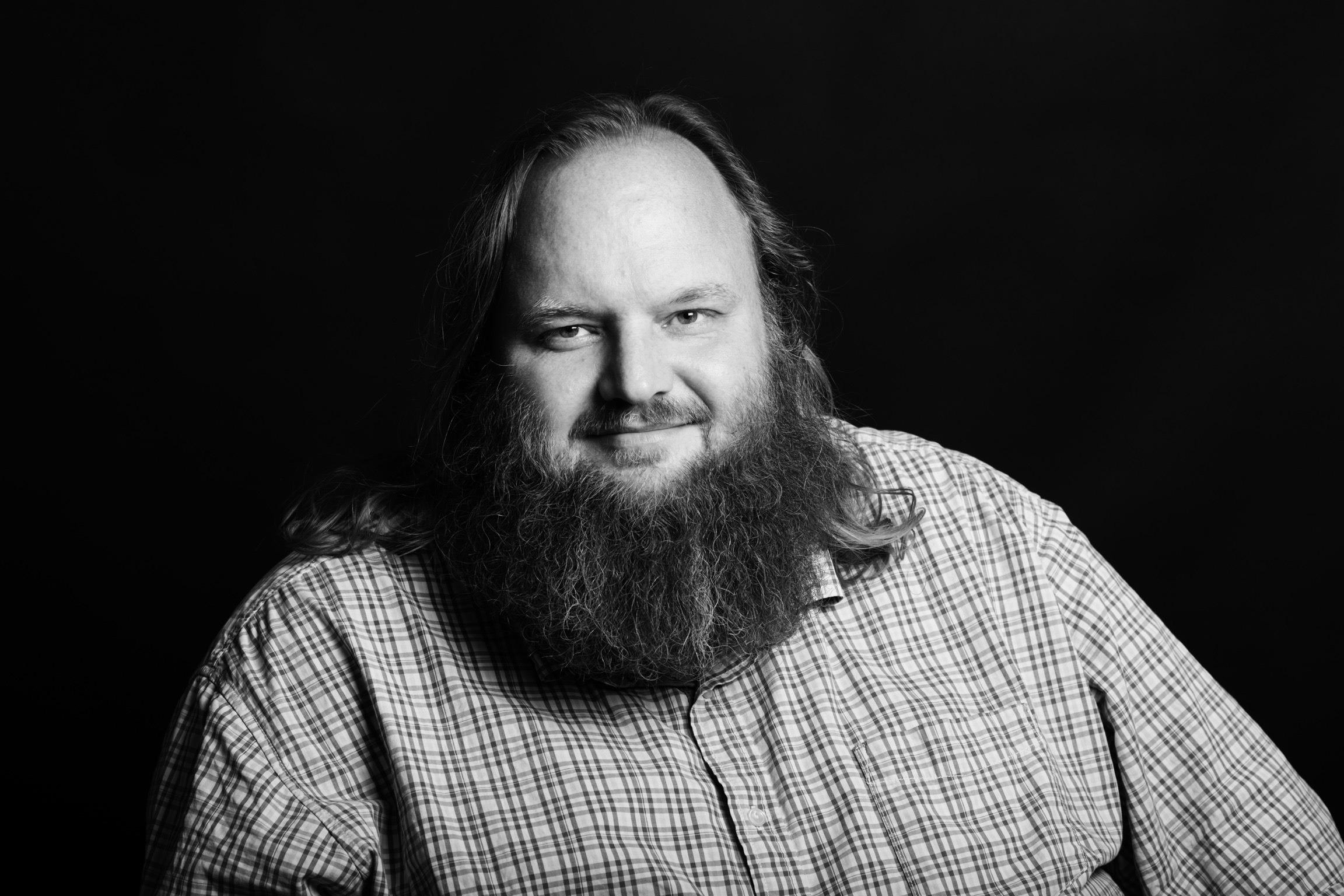 Christian Monggaard er forfatter til bogen Olsen Banden. Foto: Sigrid Nygaard