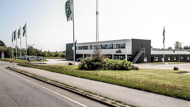 Cantona Systems åbnede i december på Gl Ålborgvej 63 i Sæby. Foto: Peter Jørgensen Peter Jørgensen