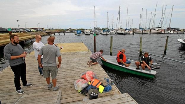 Asaa Bådelaug tilbød gratis sejlture rundt i havnen for alle interesserede. Foto: Jørgen Ingvardsen Jørgen Ingvardsen