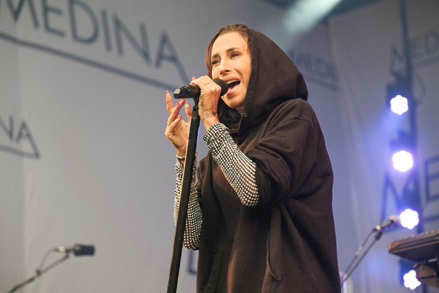 Medina åbnede Stor scene torsdag.