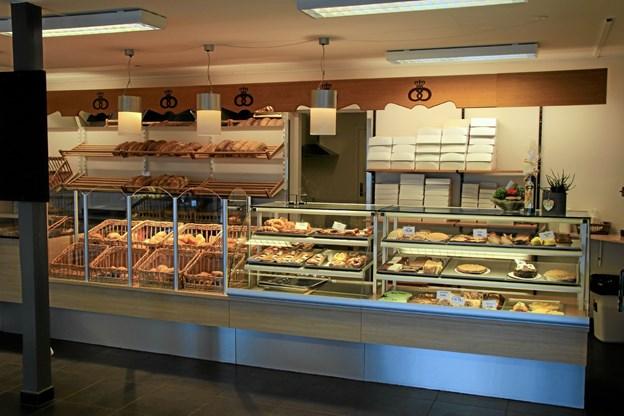 Masser af forskelligt brød som virker særdeles indbydende. Hans B. Henriksen