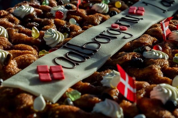 Ingen fødselsdag uden kage ...