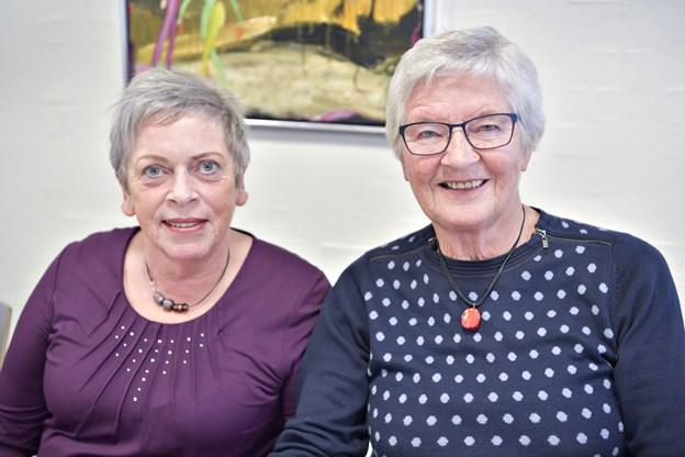 Kamillus Brønderslev var indstillet, og Ulla Antonsen og Solveig Skovrider er begge aktive i foreningen, der våger ved meget syge og døende.Foto: Bente Poder
