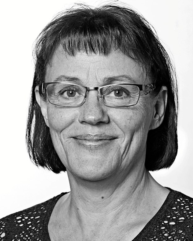 Karin Laursen, fylder 60 år juleaftensdag. Privatfoto