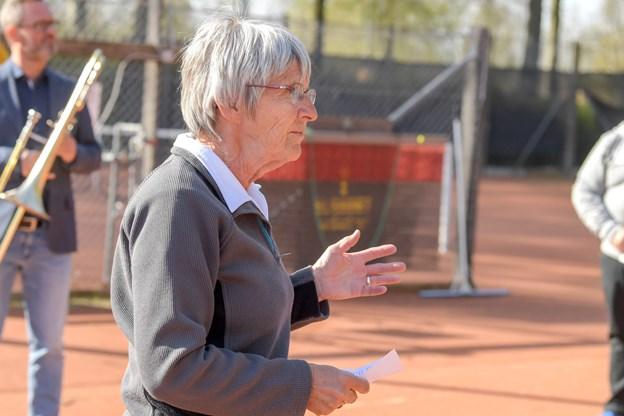 Tennissæsonen er i gang. Foto: Henrik Louis
