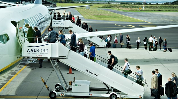 Lufthavnen slog rekorden