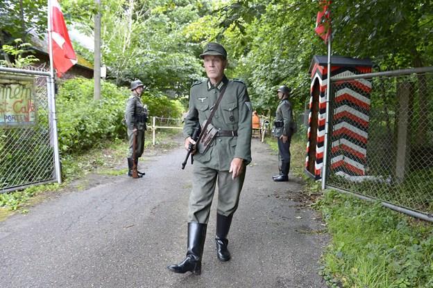 Militær historisk dag i Kunstskoven i Frederiskhavn.  Foto: Bente Poder