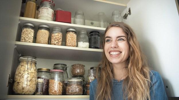 Gittemarie Johansen oplever en stigende interesse fra folk, der gerne vil høre mere om hendes livsstil. Foto: Bente Poder