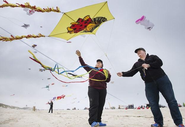 Wind festival fra Løkken til Blokhus er et fælles turismeprojekt, der blev prøvet af sidste sommer med succes. Foto: Hans Ravn