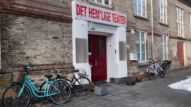 Det Hem'lige Teater er et unikt tilbud, hvor man bare kan møde op og være med. Foto: Hans Ravn.