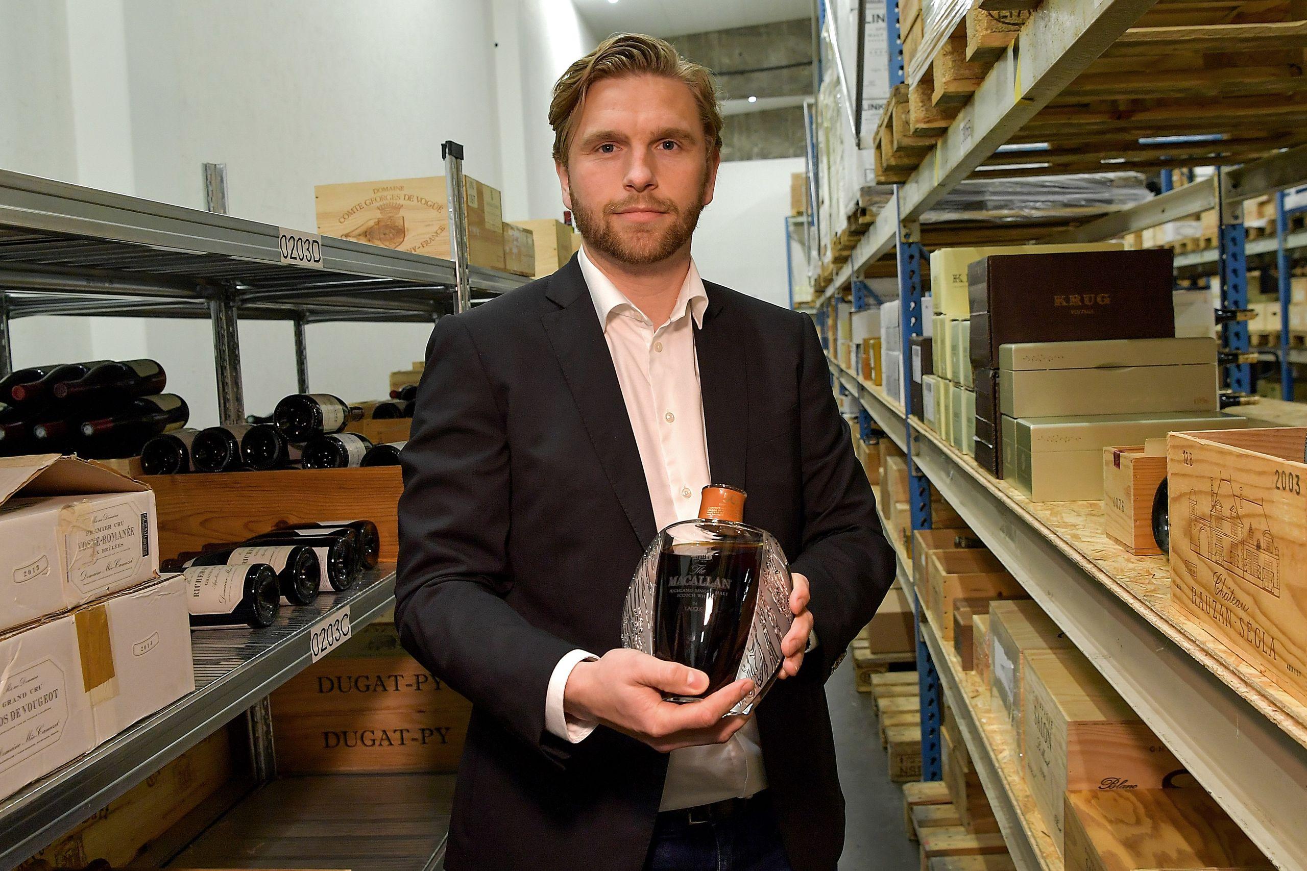 En whisky til mere end syv millioner kroner
