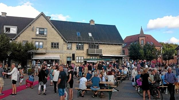 Skørping Erhvervsforening har blandt andet sikret jazz på Torvet fredag eftermiddag til Skørping Byfest. Privatfoto