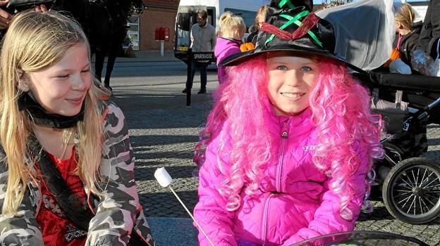 Udklædning er en del af at fejre halloween. Foto: Flemming Dahl Jensen