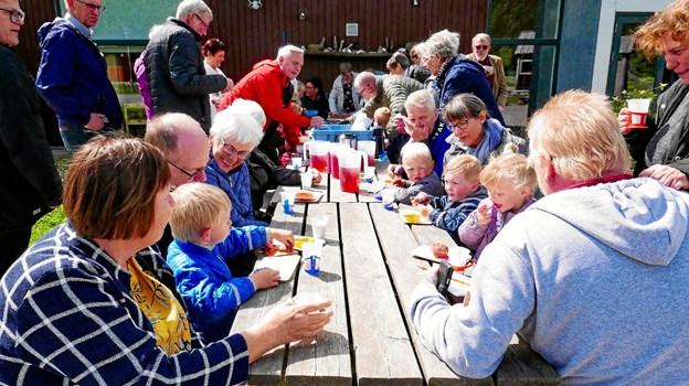 Fra 1. november stiger antallet af børn i Kronens Mark fra 36 til 46 børn. Foto: Ole Iversen Ole Iversen