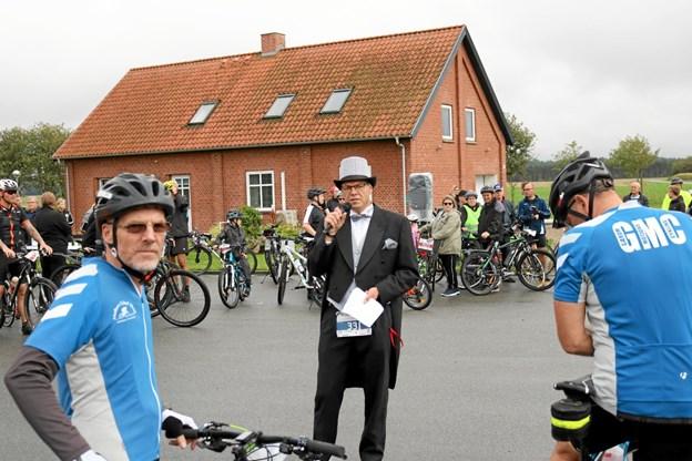 Løbsarrangør Rico Eiersted fra Strandby bliver også involveret i dette års udgave af LandsbyLØBET. Tommy Thomsen