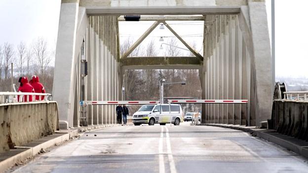 Frem til oktober kan bilister - fra tid til anden - om aftenen og om natten opleve begrænsninger i bredde og passage af Aggersundbroen, oplyser Vejdirektoratet. Arkivfoto: Torben Hansen