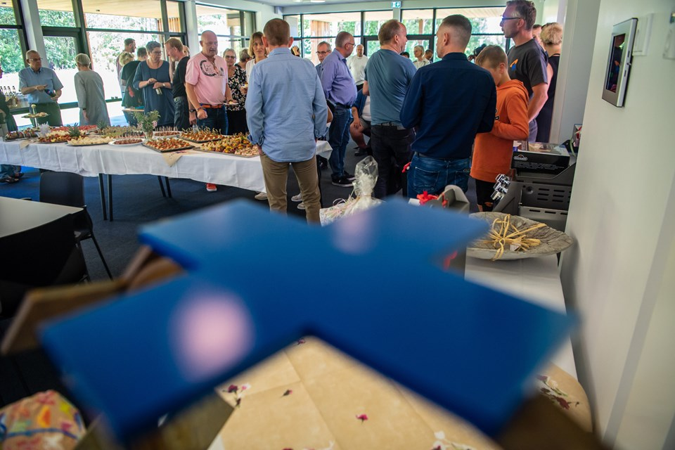 Blå Kors Hjemmet for misbrugere indvier sit nye aktivitetshus. Der vil være musikalske indslag og nogle få velvalgte taler :-)      Foto: Martin Damgård Martin Damgård