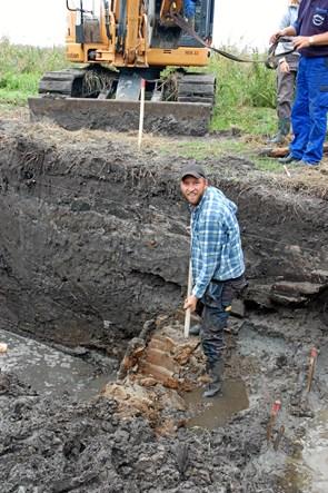 Arkæolog fra museum tilbage på skolebænken