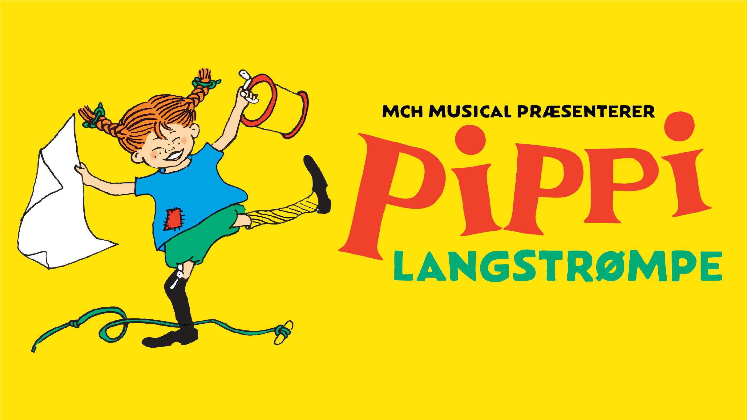 Pippi kommer til Aalborg i efterårsferien - i form af en musical. PR-foto