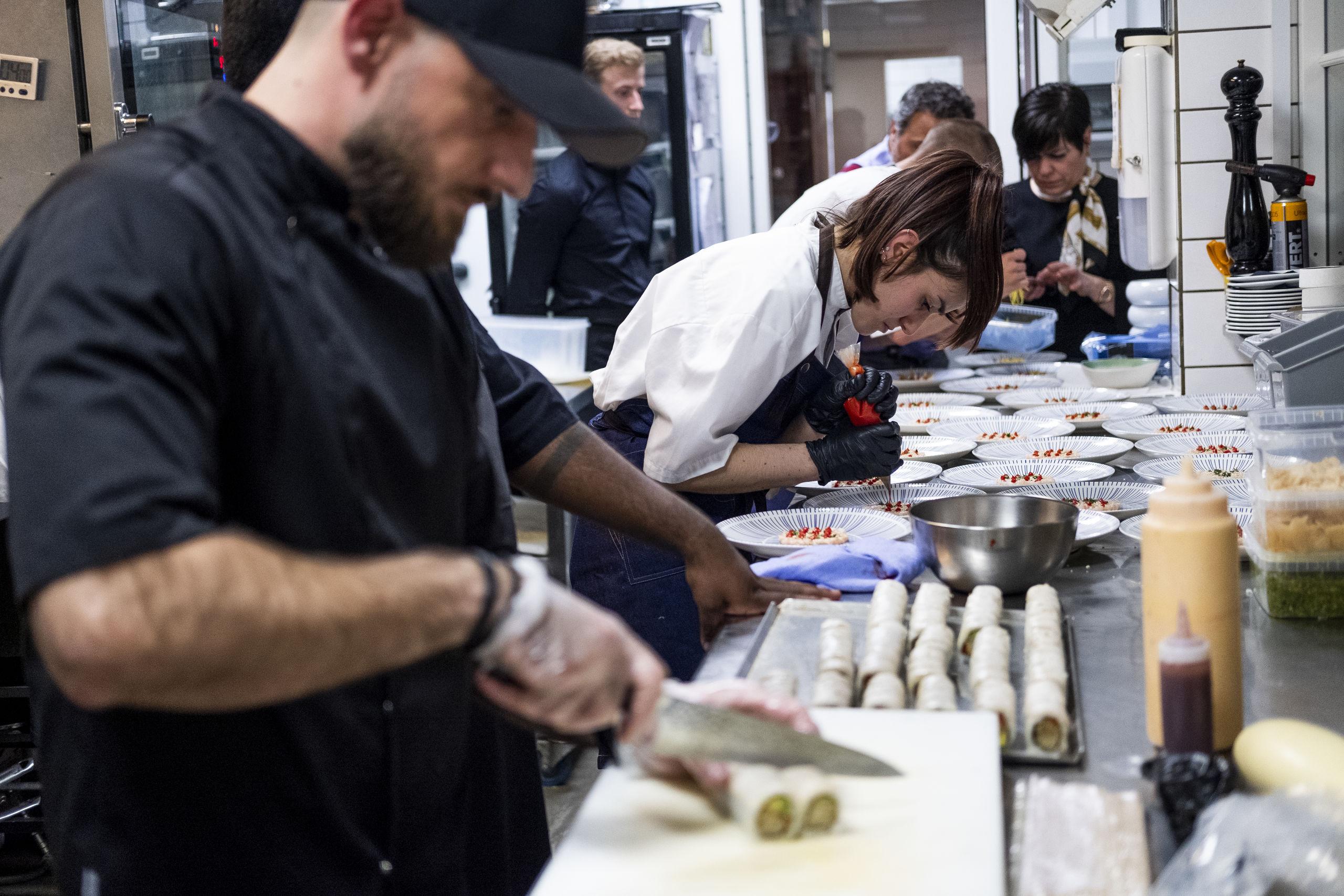 Det var første gang, SushiMania XO stillede op ved Bedst i Nordjylland. Foto: Lasse Sand