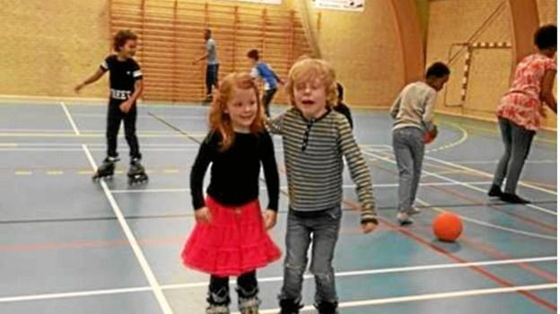 Red Barnets Oplevelsesklub var på besøg hos Vendelbo Skater. Privatfoto