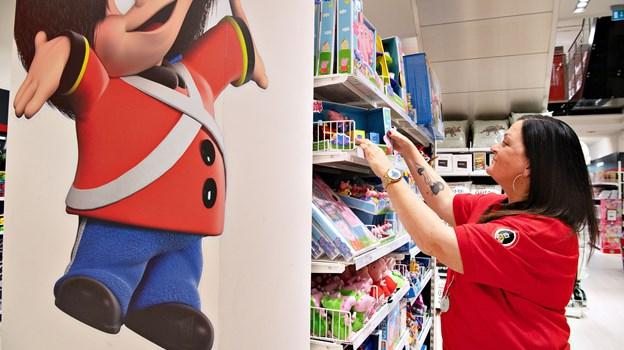 Butikschef Mette Mellergaard og de øvrige ansatte i butikken er klar til åbningen i morgen. Foto: Hans Ravn