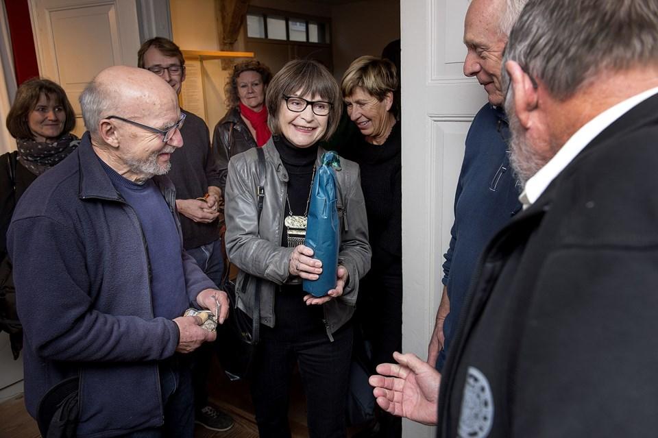 Marianne Dyhrberg Cornett og Lars Pauli
