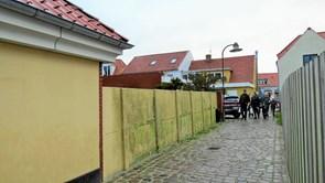 Fællesprojekt og borgerinddragelse i udsmykning af central bymur