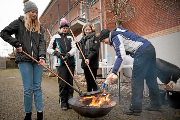 Jul i Bindslev. Foto: Peter Jørgensen Peter Jørgensen