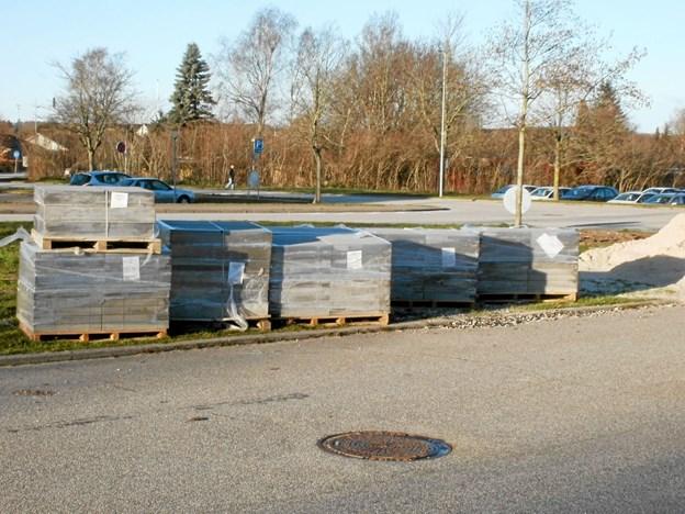 Det lignede et større anlægsarbejde, da det hele startede. Foto: Kjeld Mølbæk Kjeld Mølbæk
