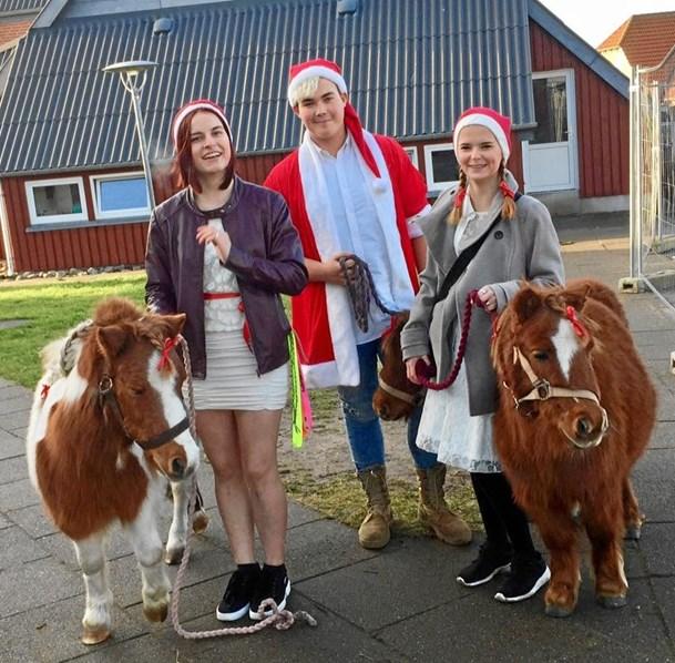 Julemarked hos Hobro Efterskole