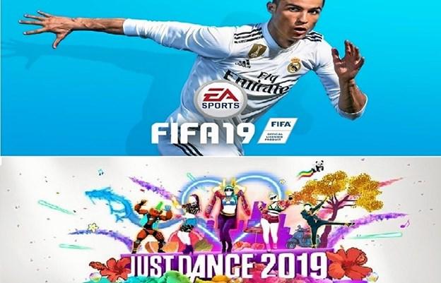 Der spilles FIFA på biblioteket. Foto: Jammerbugt bibliotekerne