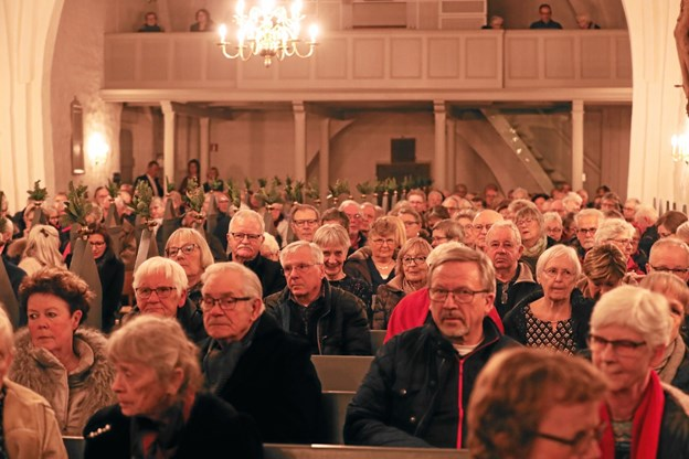 Der var stort rykind i Hals Kirke. Foto: Allan Mortensen Allan Mortensen