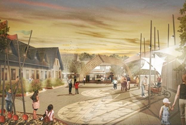 Tankerne om byfornyelsen byder på en helt ny sammenhæng i byen. Men der kommer også til at være en del byggerod i byen, inden det hele står færdigt.